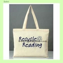 Canvas tote bag, Organic cotton carrying bag, Eco-friendly organic cotton bag