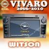 WITSON OPEL VIVARO CAR STEREO SPEAKERS with DVB-T Tuner (optional)