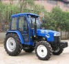 Hot sell cabin 55wd 4*4 tractor with cabin for farm use