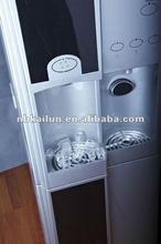Floor standing water dispenser with ice-maker