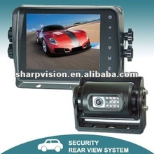 5.6-inch digital mobile car security system with touch buttons monitor