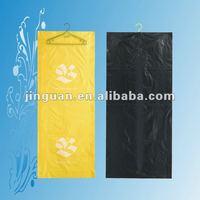 wholesale plastic wedding dress Garment Bag foldable bag
