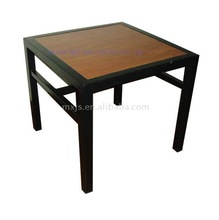 Tea Table home furniture wooden table metal frame