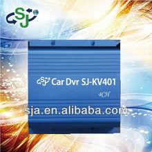 SJA-KV401 4CH Car DVR / 4ch black box car dvr