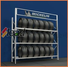 Space Well Organized Factory Best Sell Michelin Tire display rack
