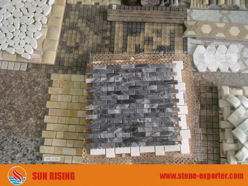 Crazy paving mosaic