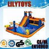 Inflatable water park with big slide /inflatable water games