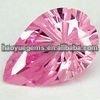 Pear Cut Pink Cz Stone Princess Cut Cubic Zirconia Jewelry Machine Cut gems