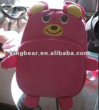 2012 animal school bags and backpacks (bear)