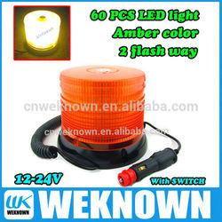 12V/24V rotating and strobe flash light Car Led Warning light