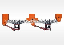 Aotong brand nice quality 3-axle mechanical suspension