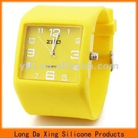 Hot sale high quality silicone rubber watches
