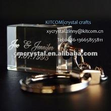 fashion crystal keyring wedding gift