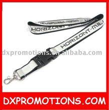 promotional reflective lanyard/shiny strap