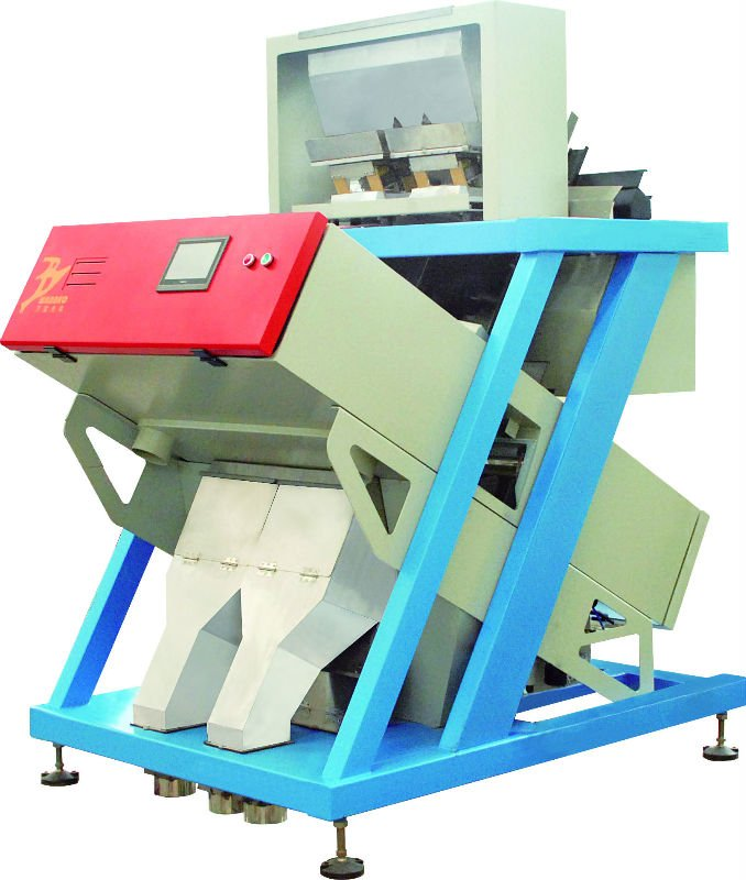 wanbao color sorter popular in Indian, peanut ccd color sorter 2012 the newest product good quality