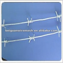 high quality barbed wire with braided (factory)