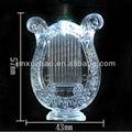 57mm led forma de harpa luzes de natal seqüência/cor branca