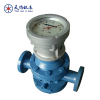 Heavy oil tank level pulse output flow meter