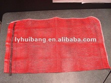 pp leno mesh bag in various sizes and colors