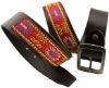 unique mens leather embroidery belts