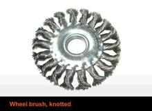twist knot wire wheel brush