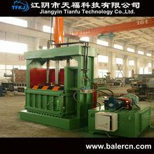(TFKJ)Y82-630F hydraulic waste plastic and straw baler machine waste paper