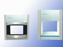 Clean two-way transfer window/with sterilization, efficient filter