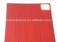 Crystal maple PVC Film laminated Plywood