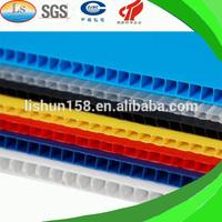 Waterproof Polypropylene Plastic Flute board