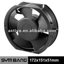 A17251DV 172mm 115v 230v AC Axial Fan