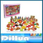 120 Pieces Yummy Plastic Food Toys