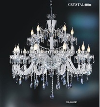 2015Crystal Chandelier Pendant Lamp-MD8206-10+5