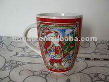 2012 New Advertising Ceramic Mug For Christmas