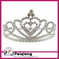 acessórios de moda de cristal do casamento coroa e tiaras