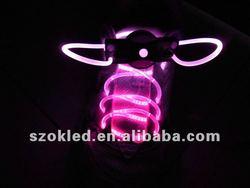 Cool Party pink LED Shoelaces Light up LED Shoelaces