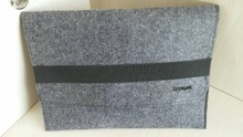 wool or polyester felt bag
