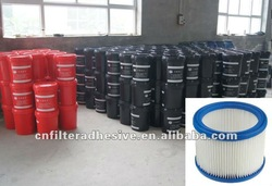 PU joint compound adhesive for air filters