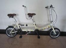 folding tandem bike