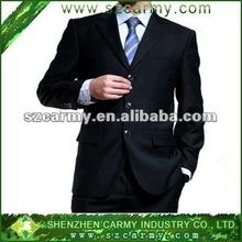 polyester/viscose 3botton new design men's wedding suits/Business suits