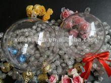 clear plastic balls christmas ornaments