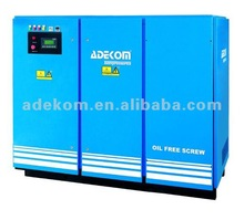 90-132kW 100% Oil Free Rotary Screw Air Compressor