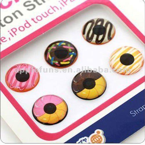 Nuovo per iphone 4 pulsante adesivo, adesivo tasto home per iphone ipad ipod touch