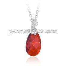 crystal rhinestone necklace with swarovski elements