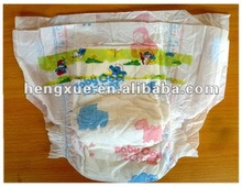 Fresh baby diapers