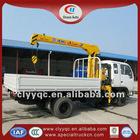 DF 3t mini crane dump truck 4x2 tipper truck for sale