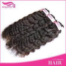 natural color 100% Brazilian human remy hair weaving micro braid