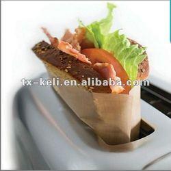 ptfe non-stick reusable toast bags