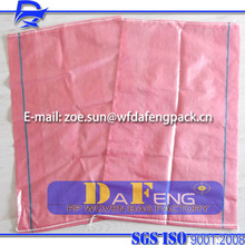 virgin and cheaper transparent pp woven sack bag factory supply for 10,25,50kg Fruits and vegetables