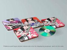 popular high quality rectangular CD tin case