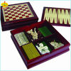 wooden 7 in 1 game set / combined box chess game set 8809